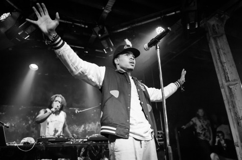 Chance The Rapper, live, XOYO, 26/08/2013
