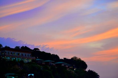 Strange clouds. Photo by Jesse Wiles.