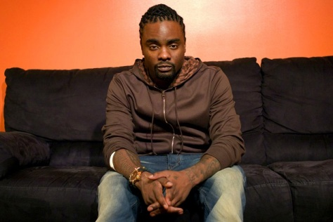 Wale backstage at 106 & Park, October 31, 2011.  (Photo: John Ricard / BET)