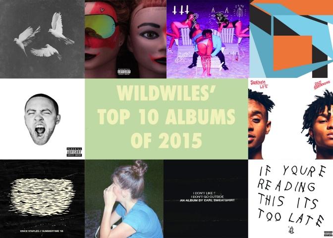 Wildwiles' top 10 albums of 2015