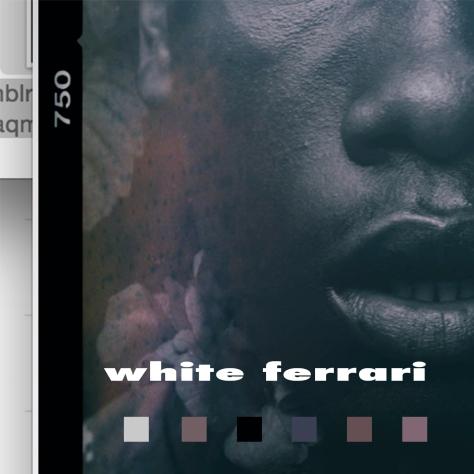 white-ferrari